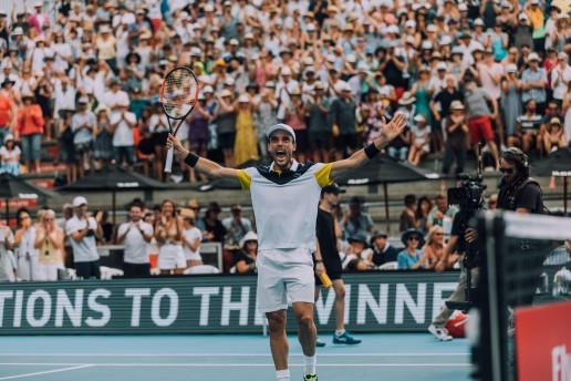 Roberto Bautista campeón Auckland 2018
